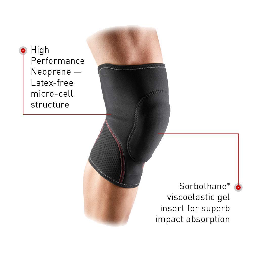 TY BEI Kneepad Kneepad - Knee Pad with Thick Gel Insert for Impact Absorption. Compression Sleeve for Support and Protection @@ (Size : S) by TY BEI (Image #3)