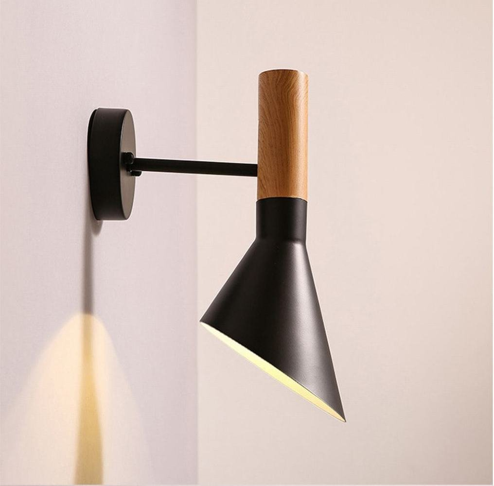 DEN La lampada da comodino della camera da letto della camera da letto è in stile moderno e minimalista in ferro battuto,B,5w luce a LED