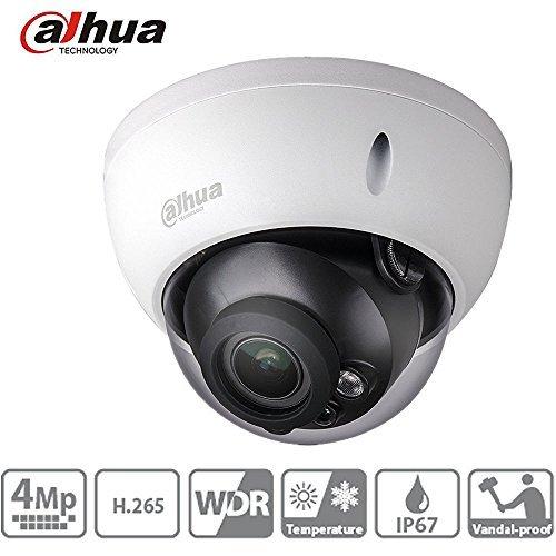 Dahua Dome Camera HDBW4431R-S 4MP Vandalproof Mini Network IP Camera H.265 IP67 IK10 PoE ONVIF Night Version International Version with 2.8mm Fixed Lens by ZKDSUIPC