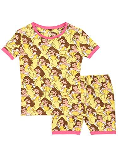(Disney Girls' Beauty and The Beast Pajamas Size 4)