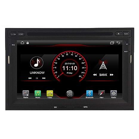 autosion en Dash Unidad principal de Android 6.0 Radio de coche reproductor de DVD GPS navegación ...
