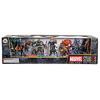 Marvel Universe Mega Figurine Set No Color