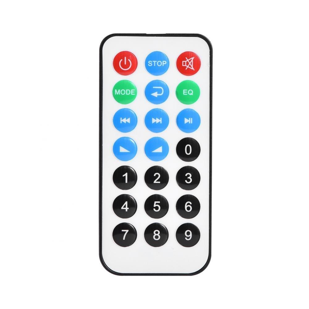 Lazmin Wireless Bluetooth 12V MP3 WMA Decoder Scheda Audio Modulo TF USB Radio per Auto Chiamata a Mani libere