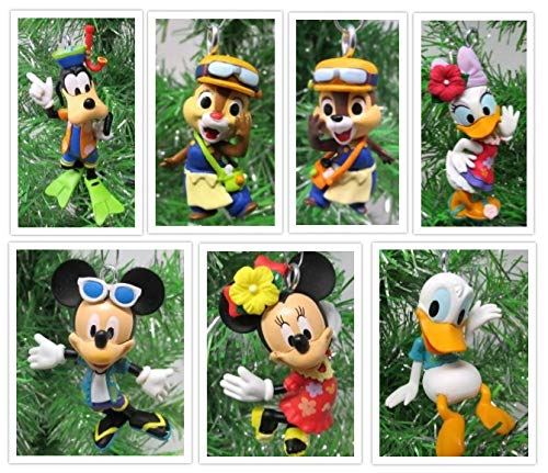 Mickey Mouse and Friends Tropical Island Themed Set