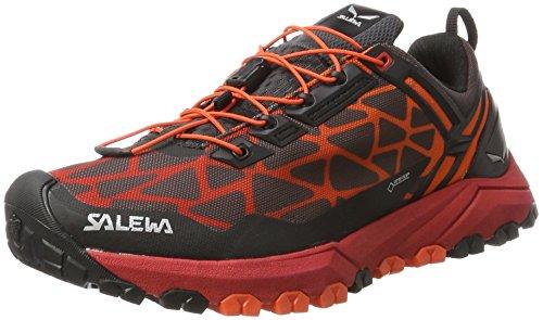 SALEWA Ms Multi Track Gore-Tex, Scarpe da Arrampicata Basse Uomo Multicolore (Black/Bergot)