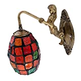 B Blesiya Multicolour Turkish Moroccan Mosaic Wall Light Lamp Lampshade Hand Made Craft - ##1