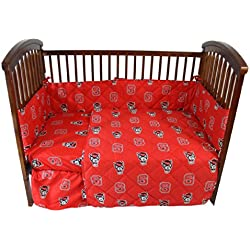 College Covers North Carolina State Wolfpack 5 piece Baby Crib Set