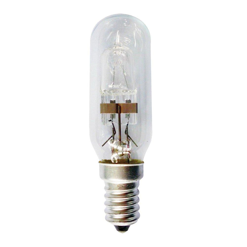 10 x Eco Halogen T25 Röhre 28W = 35W E14 klar Dunstabzugshaube warmweiß dimmbar
