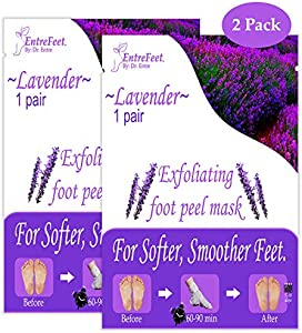 Win A Free Dr. Entre's Exfoliating Foot Peel Mask | 2 Lavender Pairs...