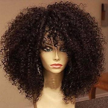 Vigin Hair Human Hair Wigs Peruvian Glueless Lace Front Wigs Deep Curly  Human Hair Lace Front adbd3e6d96