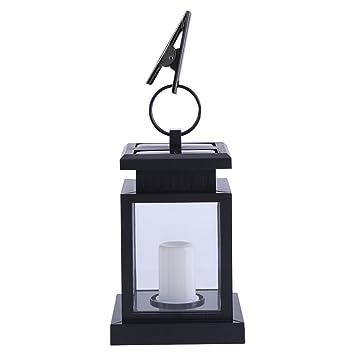 Yosoo Lumière Solaire avec Bougie LED Lampe de Jardin ...