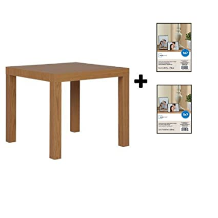 free shipping be285 49031 Mainstays Parsons Side End Table, Multiple Colors (Natural with Frame)