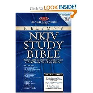 Nelson's NKJV Study Bible (Burgundy) Thomas Nelson