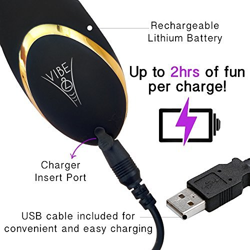 Charging Cord Replacement Unit for Diablo Prostate Massager and Diabella Personal Massager by Vibe2o