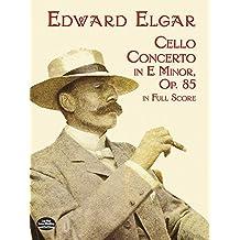 Cello Concerto in E Minor in Full Score