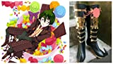 Ao No Exorcist Amaimon Earth King cosplay costume Boots Boot Shoes Shoe