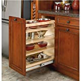 Rev-A-Shelf RS448.BC.8C 8 in. W x 22.5 in. D Pullout Base with Shelves