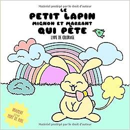 Le Petit Lapin Mignon Et Marrant Qui Pete Livre De