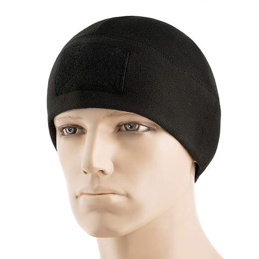01247347a71 M-Tac Tactical Beanie Fleece Watch Cap - Winter Hat Elite - Patch Panel (