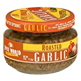 Spice World Roasted Minced Garlic