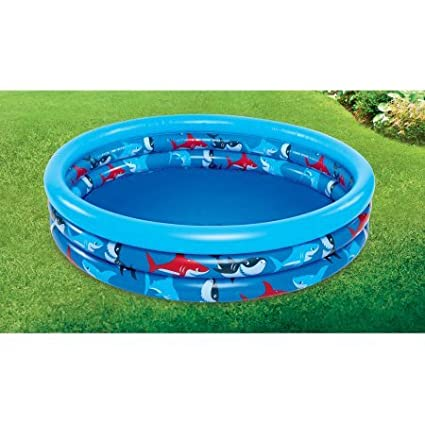 Aixiang Plastic Inflatable 3 Ring Pool