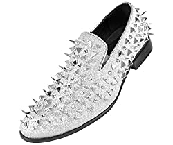 Loafer with Large Spikes