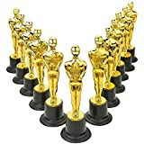 Kidsco Plastic Trophy – 12 Pack 6 Inch Figure Trophy, Competitions, Awards, Ceremonies, Contests, Parties, Party favors, Props, Rewards, Prizes, Games, School, Field Day, Boys And Girls