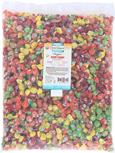 Torie and Howard Organic Hard Candy Bulk Candy, Five Assorted Flavors, 5 pound bag ()