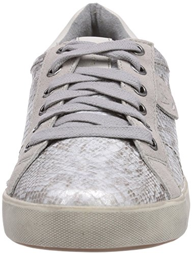 grey Structure grau Donna Tamaris Sneaker Basse 209 23600 Grigio aqxaTZU7