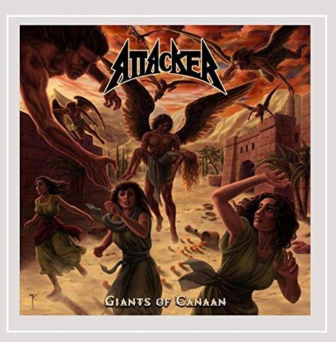 Attacker: Giants of Canaan (Audio CD)
