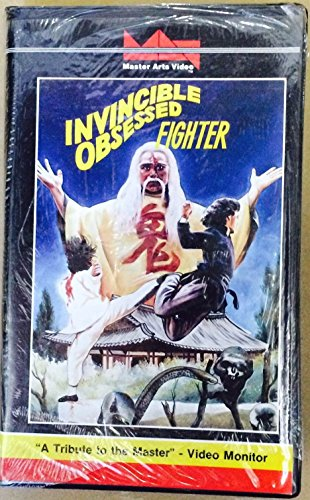 Invincible Obsessed Fighter  Vhs