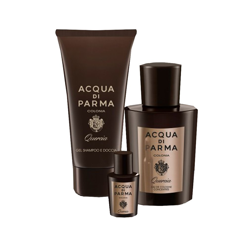 ACQUA PARMA Set Colonia Quercia Eau de Cologne 100 ml + Shower Gel 75 ml + Mini 5 ml 2523647