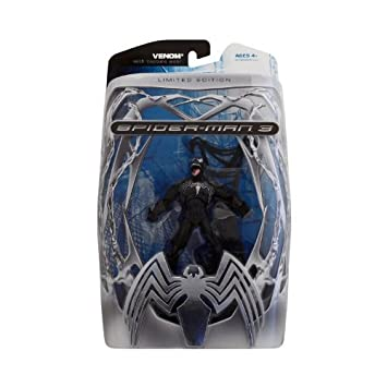 Edition 3 Exclusive Action Spiderman Venom Limited Figure Movie BCdeWrxo