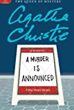 A Murder Is Announced, Agatha Christie, 006207363X