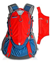 Travel Backpack & Hiking Waist Pack For Women And Men - Durable, Lightweight.