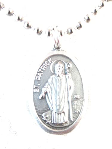 Vpp silver tone st patrick cathedral medal pendant necklace 24 vpp silver tone st patrick cathedral medal pendant necklace 24quot aloadofball Choice Image