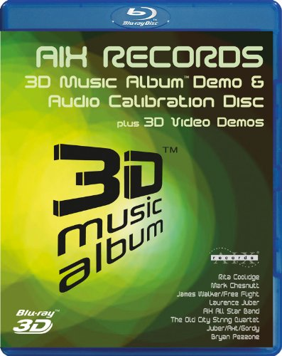 3D Music Album - Demo & Audio Calibration Disc (3D Blu Ray) [Blu-ray] ()