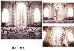 LB 10x15ft Wedding theme Poly Fabric Customized photography Backdrop Background children studio prop JLT-7480