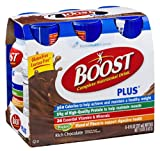 Boost Plus Complete Nutritional Drink Rich Chocolate 6 PK (Pack of 8)