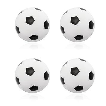 Winstory 4 x 32 mm Plástico de fútbol pelota de futbolín de mesa ...
