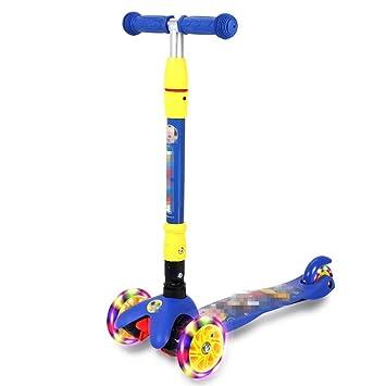 Scooter de niños para niños Scooter Scooter de tres ruedas ...