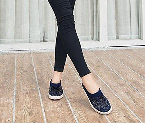 KUKI Breathable Net Schuhe flach laufenden weichen Boden Tennis Sportschuhe 1