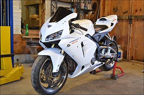 Fairing For Honda 2005 2006 CBR 600RR Complete White Injection Plastic Kit