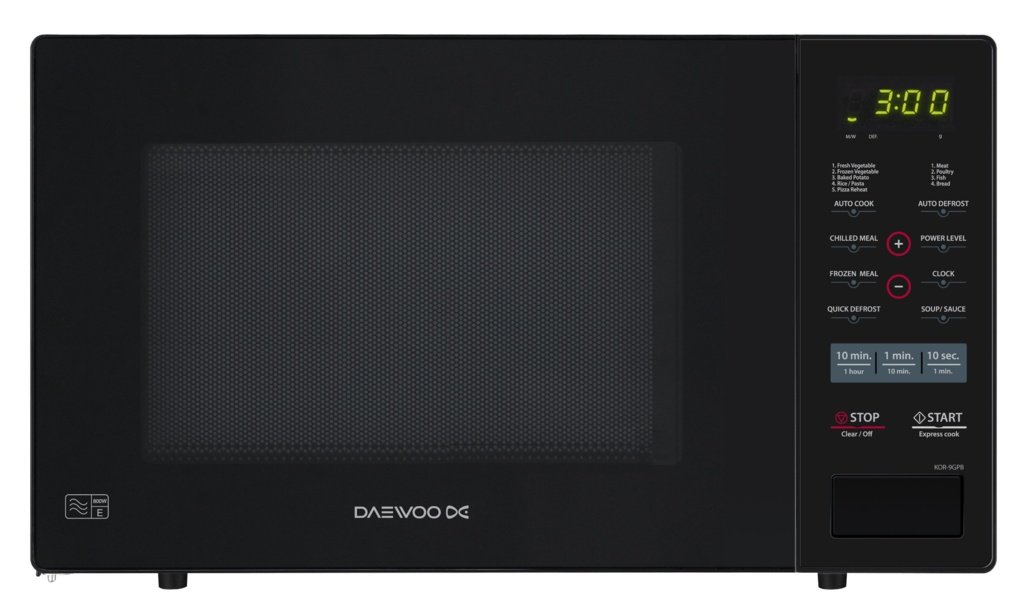 Daewoo Digital microondas horno Negro 26L 900 W: Amazon.es: Hogar