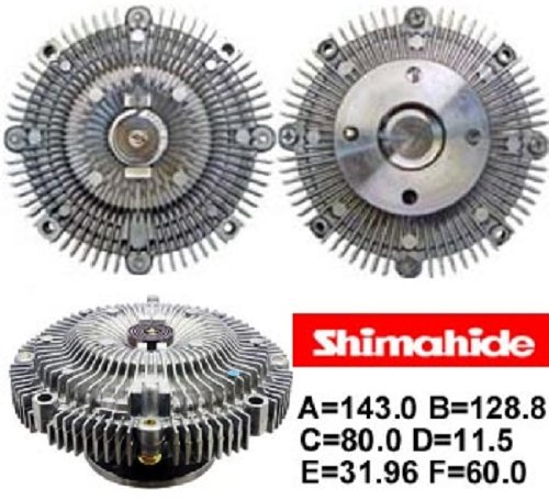 SHIMAHIDE FAN CLUTCH INFINITI J30 93-97 (P510 Car)