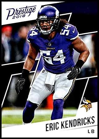 premium selection 2d811 03220 Amazon.com: 2018 Prestige NFL #155 Eric Kendricks Minnesota ...