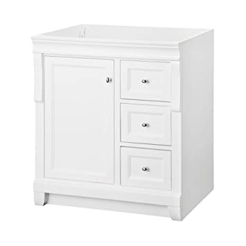 Foremost NAWA3021D Naples 30, W. X 21 Inch Depth Vanity, White