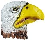 HMS Eagle Realistic Animal Mask, White, One Size