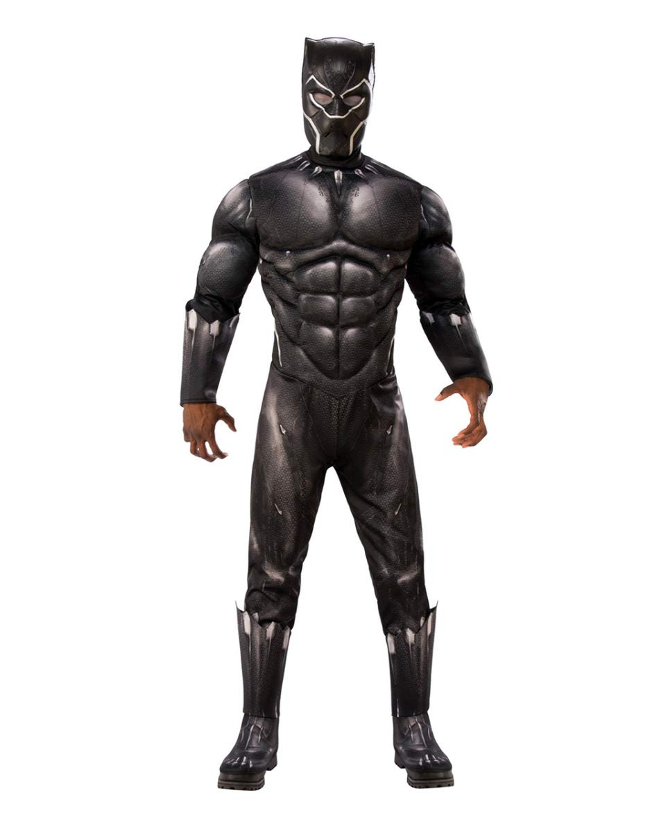 XL HorrorShop Black Panther Muscle Costume XL