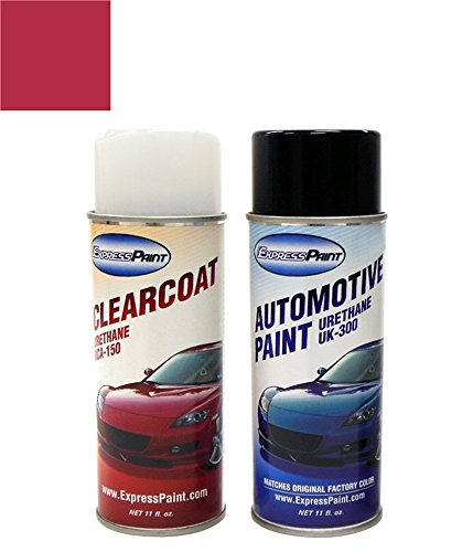 ExpressPaint Aerosol Toyota Camry Automotive Touch-up Paint - Red Pearl Clearcoat 3J9 - All Inclusive Package